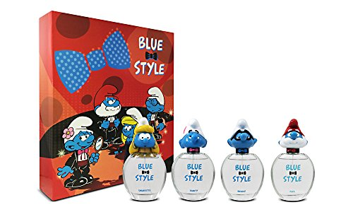 Smurfs 3D Fragrance Collection Set, 1.7 Ounce, 4 Count -