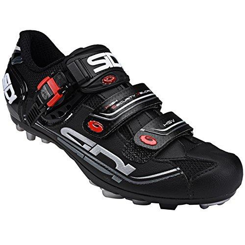 Sidi MTB Eagle 7 Fahrradschuhe Herren black/black Größe 42 2017 Mountainbike-Schuhe