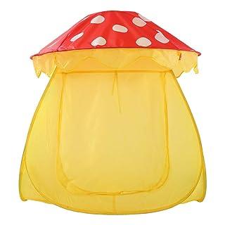 DorisAA-Tent Tenda Pop-up per Esterni Creativo Mushroom Design Kids Play Tenda Pieghevole Indoor Giocattoli Playhouse per Bambini Ragazze Tenda da Campeggio