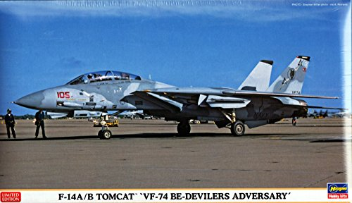 ハセガワ 1/72 F-14A/B トムキャット VF-74 ビ・デビラーズ アドバーサリー