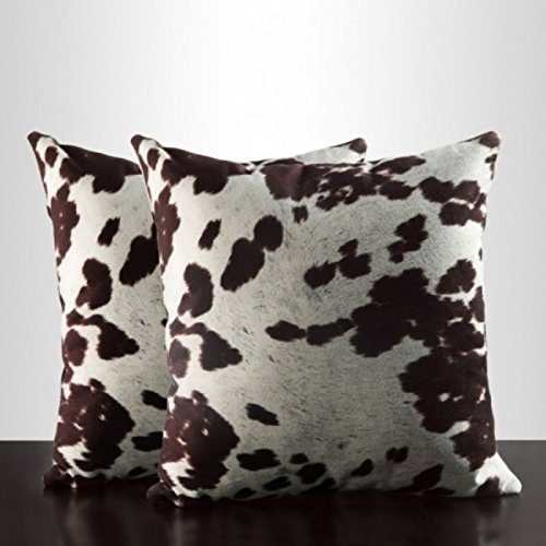 Home Creek Animal Print Accent Pillows - Set of 2 by TOPLINE FURNITURE