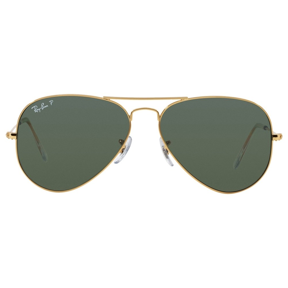 Amazon.com: Ray Ban RB3025 Aviator Sunglasses-001/58 Gold Gold (Green Polar  Lens)-58mm: RAY BAN: Shoes