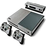 Mod Freakz Console and Controller Vinyl Skin Set - Gray Ash Barn Tree for Xbox One