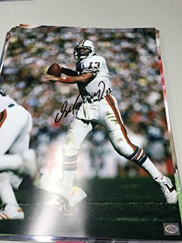 Dan Marino Signed Autographed Miami Dolphins 16x20 Photo W/Dan Marino Hologram Dan Marino Photograph