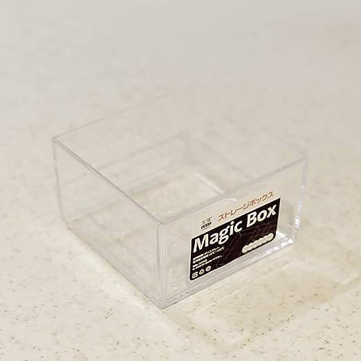 LIZICTSN Cutlery Tray Cajón de Caja Transparente de plástico múltiples especificaciones Vajilla Cuadro Ordenar y Clasificación (Color : A): Amazon.es: Hogar