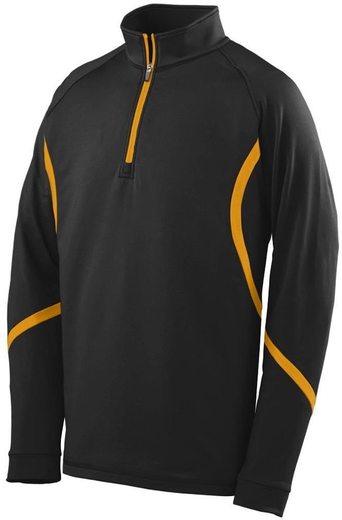 Augusta Sportswear 4760大人用Zealプルオーバー B00FOL41U0 XXX-Large|ブラック/ゴールド ブラック/ゴールド XXX-Large