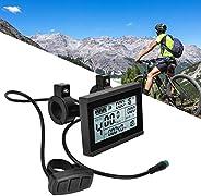 Bicycle Display Meter, Bicycle LCD Display Meter,KT-LCD3 Plastic Electric LCD Display Meter with Waterproof Co