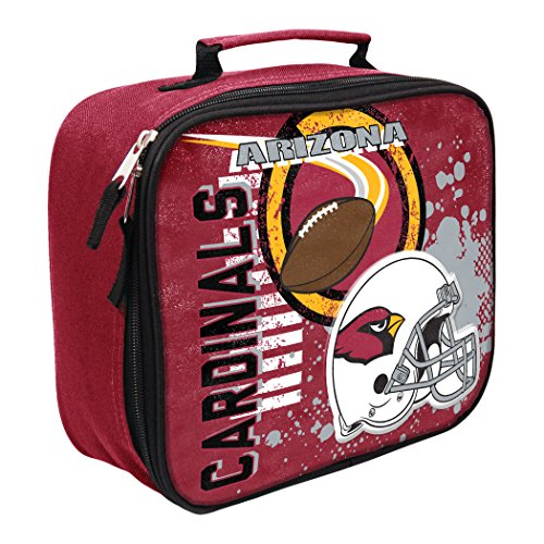 The Northwest Company Officially Licensed NFL Arizona Cardinals Unisex Accelerator Lunch Kit, Black