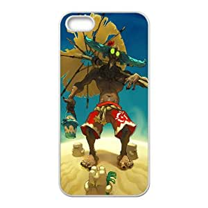 Wakfu Game iPhone5s Cell Phone Case White Decoration pjz003-3809167
