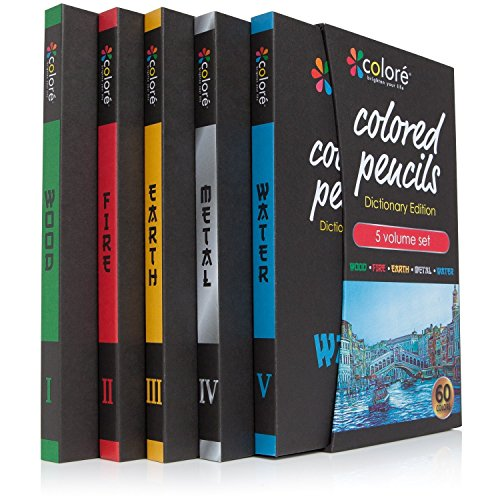 Colored Pencils Pre-Sharpened Color Pencil Set, 60 Vibrant Colors by Colored Pencils