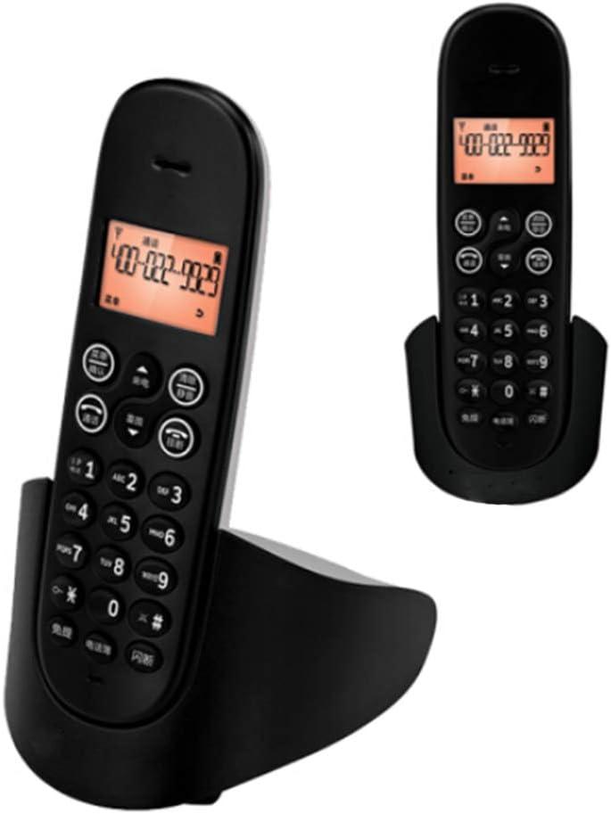 Home Phone 5-Set Landline Cordless Telephone Portable Wireless Answering Machine