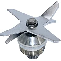 Blendin Stainless Steel Heavy Duty Wet Dry Ice 6 Blades Assembly,Compatible with Vitamix Part 1151, 1152