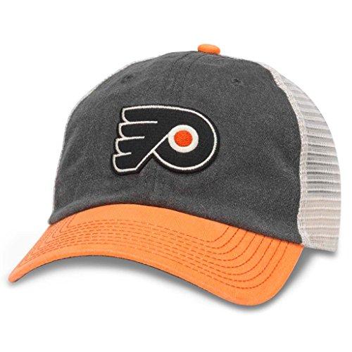 (American Needle Hanover NHL Team Mesh Hat, Philadelphia Flyers, Ivory/Black/Orange (43352A-PHF)    )
