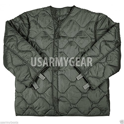 Foliage Green Quilted M-65 Field Jacket Liner, U.S. Army Cold Weather Coat Insert 2XL XXL (XX-Large) (Best M65 Field Jacket)