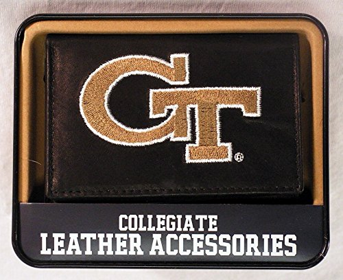 (Georgia Tech Yellow Jacket NCAA TriFold Wallet From Rico)