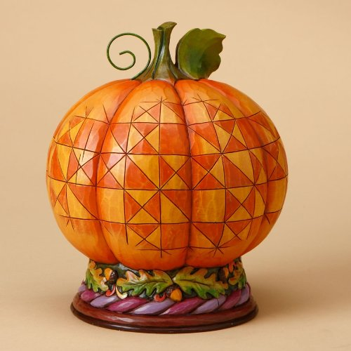 Jim Shore Harvest Lighted PUMPKIN DIORAMA 4015887