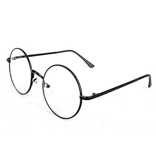 Demiawaking Gafas del Mismo Párrafo de Harry Potter,Espejo del Llano,Metal Retro Ronda Gafas