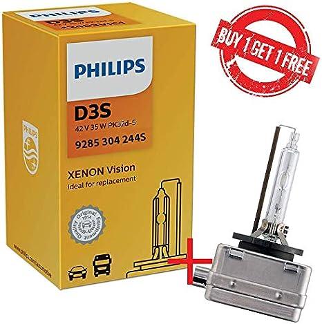 Philips 9285 304 244s D3s Xenstart Hid Xenon Brenner Entladungslampe Erstausrüsterqualität Oem 1 Lampen 1 Free Weiße Box BeschrÄnktes Angebot Auto