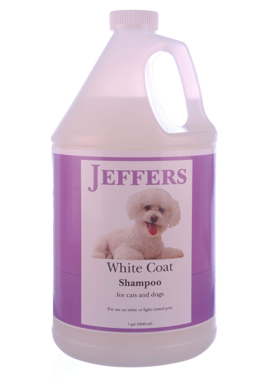 Jeffers White Coat Shampoo, Gallon by Jeffers