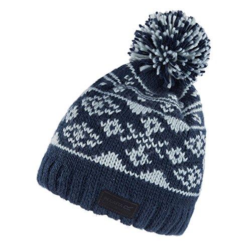 Regatta Mens   Womens Ladies Sleet Fleece Lined Wool Bobble Beanie Hat   Amazon.co.uk  Clothing e22ceee8f5f