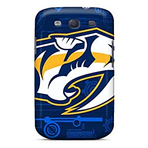 Hot Nashville Preds First Grade Tpu Phone Case For Galaxy S3 Case Cover