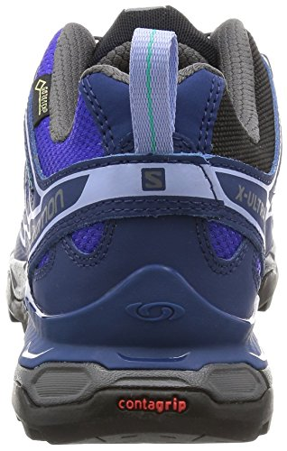 Ultra 2 Salomon Femme GTX Chaussures Black Tige de à Basse X Randonnée UBqqwErn5