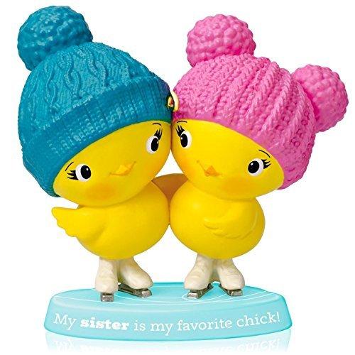 1 X Sister Chicks - 2014 Hallmark Keepsake Ornament