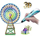 3D Pen for Kids Newest 3D Printing Pen, Portable 3D Printer Pen