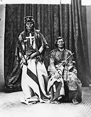 Cheyenne Chiefs 1873 Nnorthern Cheyenne Chiefs Little Wolf (Left) And Dull Knife (Also Known As Morning Star) Photographed By William Henry Jackson While Members Of A Cheyenne Delegation To Washington