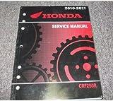 2010 2011 HONDA CRF250R CRF 250R Service Repair Shop Manual FACTORY OEM 10 11 x