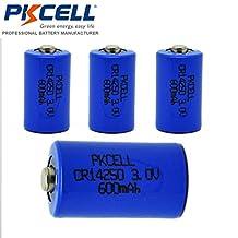 CR14250 14250 3V 600mAh 1/2AA Lithium Li-MonO2 Battery For Snuza Baby Monitor (4pcs)