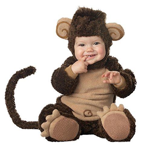 JTENGYAO Infant Boys Girls Animal Monkey Costume Halloween Christmas Pajamas Cosplay Costume(13-18 -