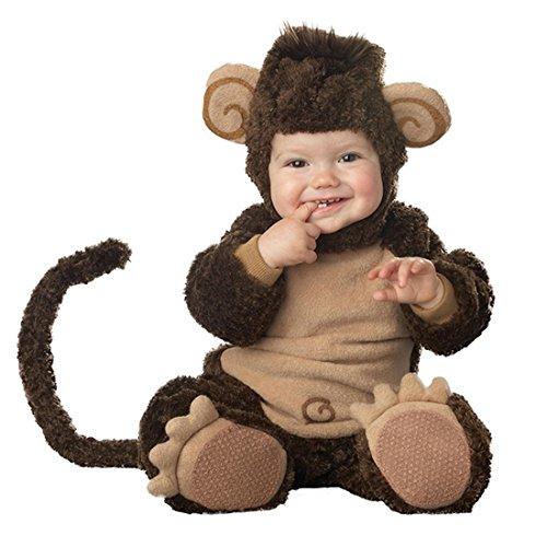 JTENGYAO Infant Boys Girls Animal Monkey Costume Halloween Christmas Pajamas Cosplay Costume(7-9 Months)
