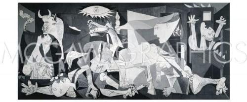 Pablo Picasso Poster//Reproduction   /'Guernica/'
