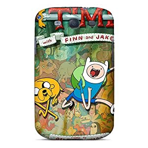 Glk8320rGDm Phone Cases With Fashionable Look For Galaxy S3 - Adventure Time Posters