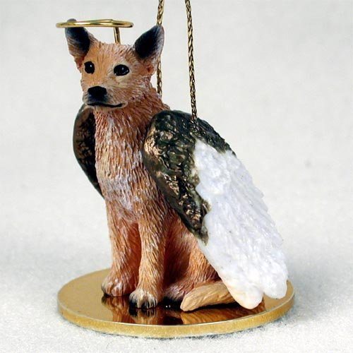 - Australian Cattle Red Dog Pet Angel Ornament
