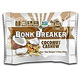 Bonk Breaker Coconut Cashew Energy Bar, 2.2 Ounce - 12 per case.