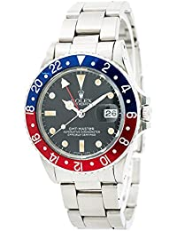 GMT Master swiss-automatic mens Watch 16750 (Certified Pre-owned)