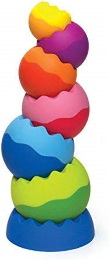 Fat Brain Toys Tobbles Balancing Toy Stacking Baby Toys Learning /& Education NEW