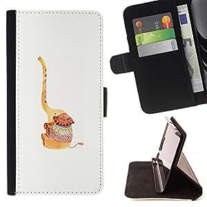 For Samsung Galaxy S6 EDGE (NOT S6) Plus / S6 Edge+ G928 Case , Animal de la historieta Dibujo lindo- la tarjeta de Crédito Slots PU Funda de cuero Monedero caso cubierta de piel