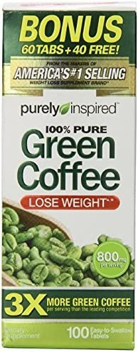 Purely Inspired Green Coffee Count product image