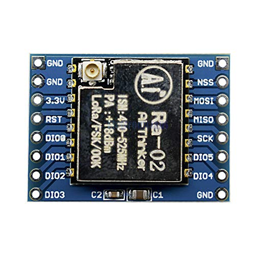2pcs sx1278 Lora 433mhz ra-02 Wireless Spread Spectrum Transmission Socket ra02