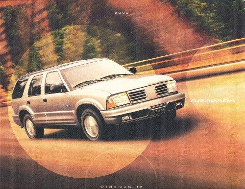 2000 Oldsmobile Olds Bravada 38-page Original Car Dealer Sales Brochure Catalog - Olds Bravada Car