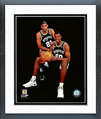 nice shoes c8471 4853f Amazon.com : Tim Duncan David Robinson 1998 NBA All-Star ...