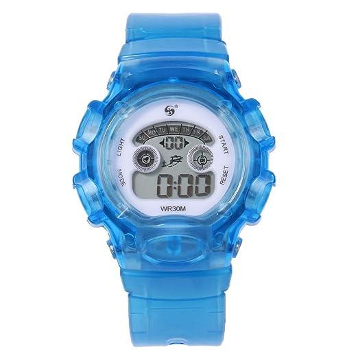 6ab971124571 Reloj Digital de acción Doble de 30 m.Baratos Deportivos Watches Digitales  Mujer de Inteligentes niños Relojes Hombre Deportivos Watches Digitales  Mujer de ...