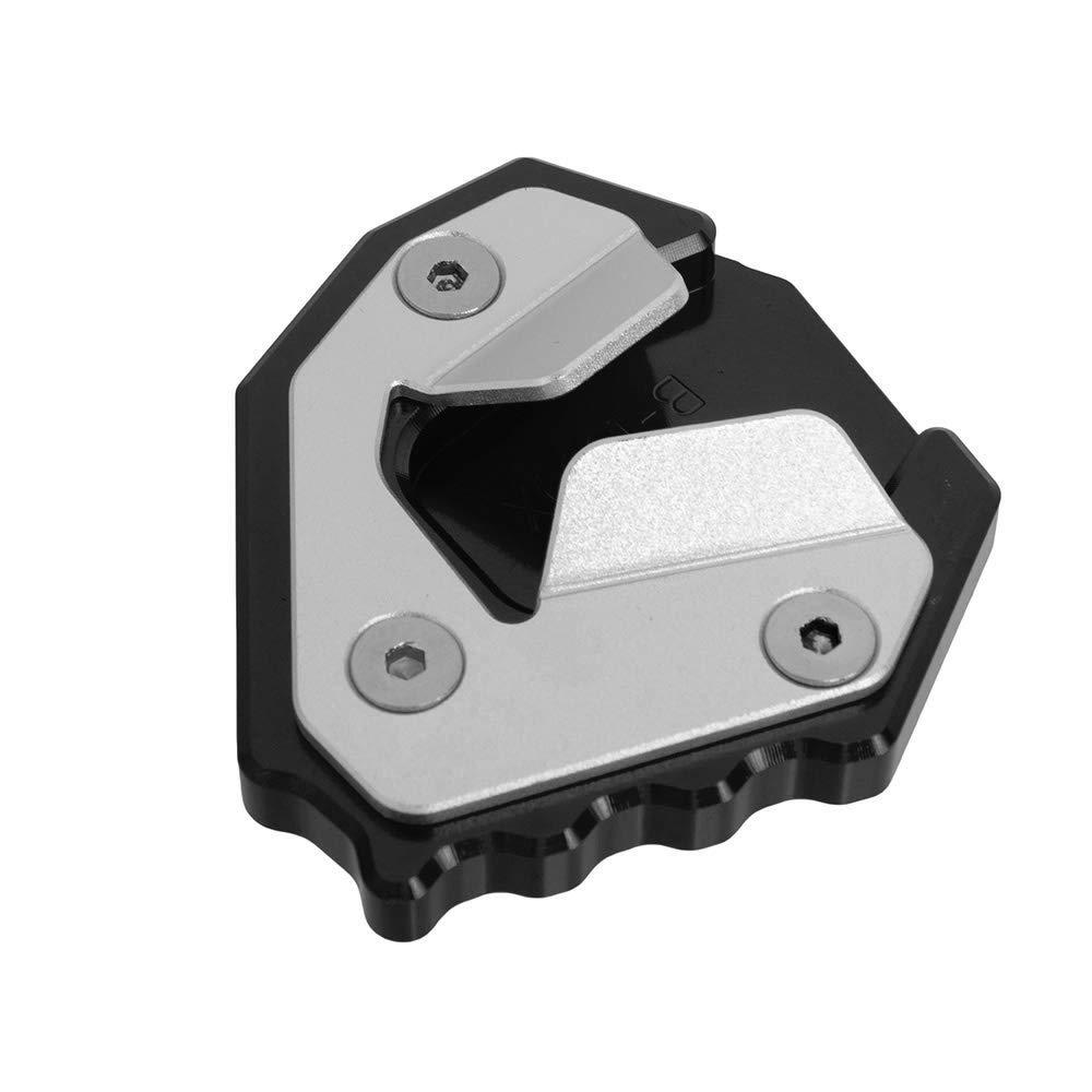 Nawenson Piastra per cavalletto laterale per moto Ingranditore di alluminio per S1000XR 2015-2018 (Oro)
