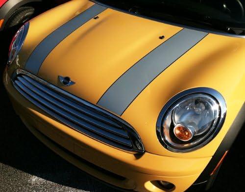 FireStorm Mini Cooper Bonnett Hood Stripes Decals