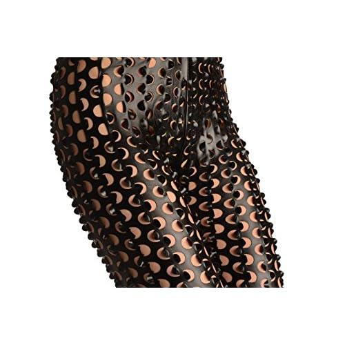 3D Cut Through Faux Leather Spikes - Leggings Taille Unique (34-38)