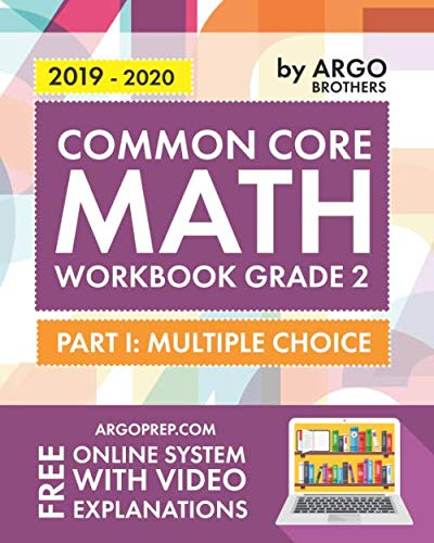 Argo Brothers Math Workbook, Grade 2: Common Core Multiple Choice (2nd Grade) ()