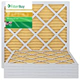 AFB Gold MERV 11 21x23x1 Pleated AC Furnace Air Filter. Pack of 6 Filters. 100% produced in the USA.